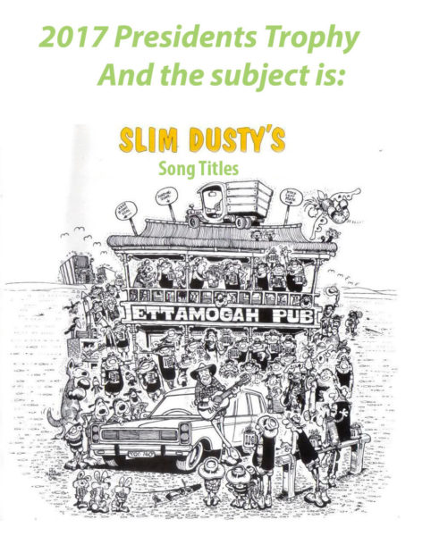 Slim Dusty's Song Titles